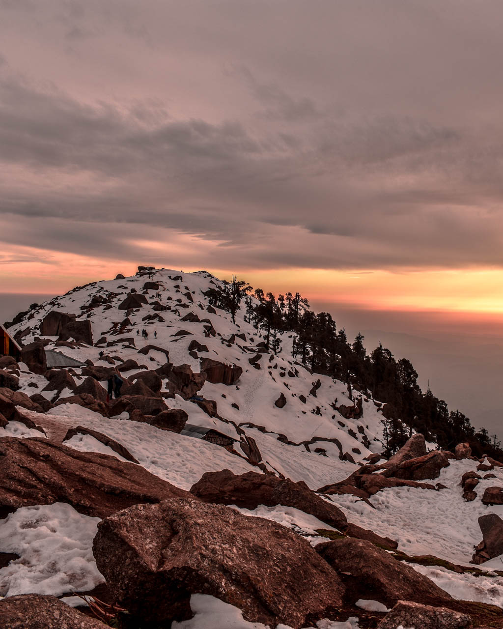 Camping at Triund hill