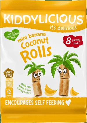 Kiddylicious - Banaan Kokos Rolletjes