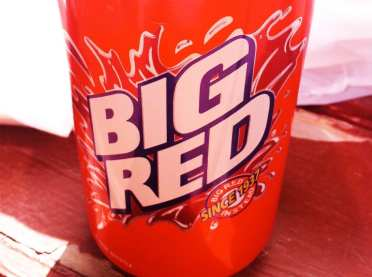 Big Red Soda from Pat's
