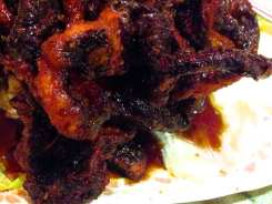 Crispy Black Mushrooms from Yuan Fu Vegetarian