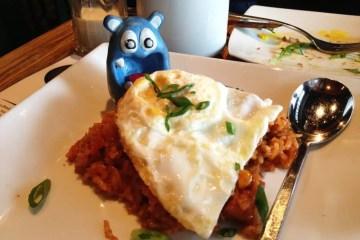 Bacon Fried Rice Tapas $7 @ MASA 14 on U st in DC