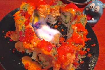 Burning Love Roll from Sushi Jin Next Door