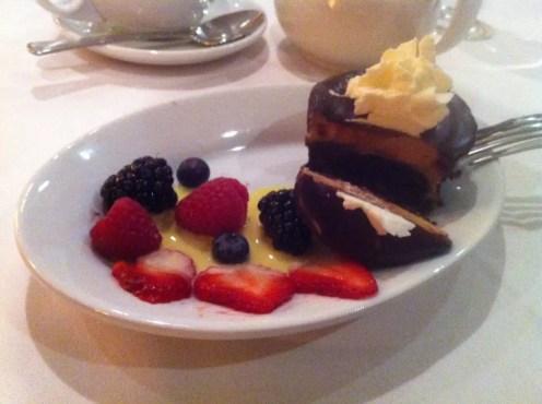 Chocolate Sin Cake from Ruth's Chris