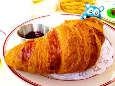 Croissant from Le Diplomate