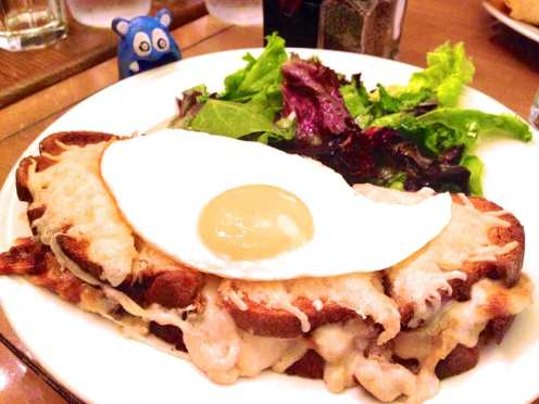 Croque Madame $13 from Paul Bakery & Cafe