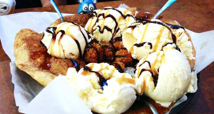 Dessert Nachos from Buffalo Wild WIng