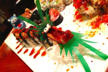 Flying Dragon Roll Sushi Jin