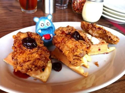 Fried Chicken Waffle $14 @ Sugo Osteria Rockville