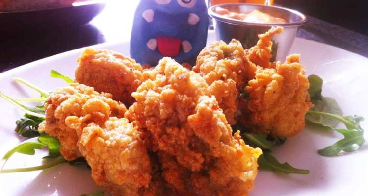 Fried Chincoteague Oysters from Addies