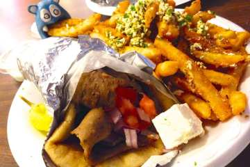 Gyro from Big Greek Cafe