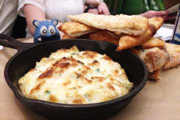 Hot Maryland Crab Dip from Farmers Fishers Bakers