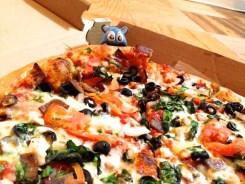 My Big Fat Greek Pizza from Manny & Olga's