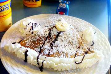 Nutella and Banana Crepe from Fenton Cafe