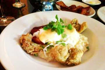 Poached Eggs from Tabard Inn