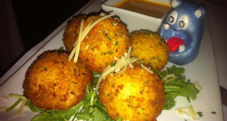 Risotto Balls from Chef Geoff