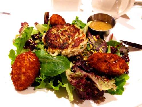 Crispy Goat Cheese from Cafe Deluxe Gaithersburg