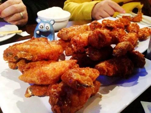 Soy Garlic Wings from BonChon Rockville