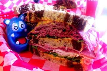 Hulk Sandwich from Bean Bag Deli