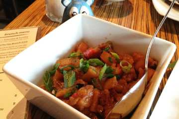 Wok Fried Home Fries Tapas $4 @ MASA 14 on U St in DC