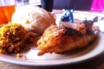 1/4 Chicken from Nado's Peri Peri