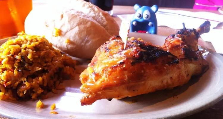 1/4 Chicken from Nado's Peri Peri