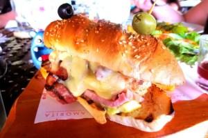 Amorita Club Sandwich from Amorita Resort Bohol Philippines
