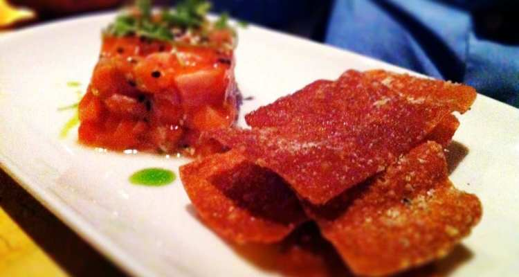 Arctic Char Tartare from Birch & Barley