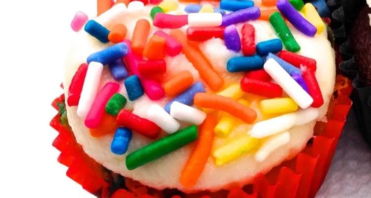 Birthday Blackout Cuocake from Crunkcakes