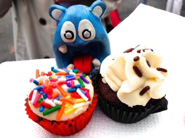Birthday Blackout & Irish Car Bomb Cupcakes from Crunchcakes