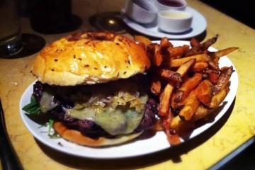Brat Burger from Birch & Barley