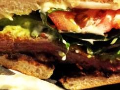 Breaded Shenandoah Steak Torta Sandwich from Jackie's