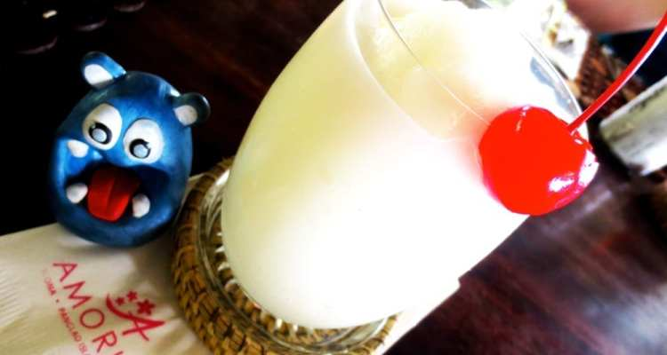 Buko Coconut Shake from Amorita Resort Bohol Philippines