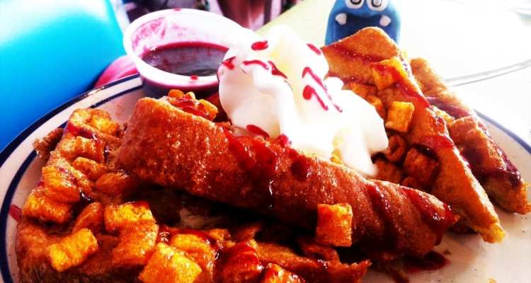 Captain Crunch French Toast from Pirates Den Ocean City