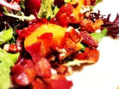 Caramelized Peach Salad from California Pizza Kitchen