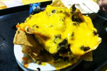 Pile High Beef Nachos from Chacho's