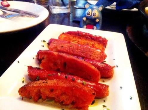 Chorizo A La Parrilla from La Tasca
