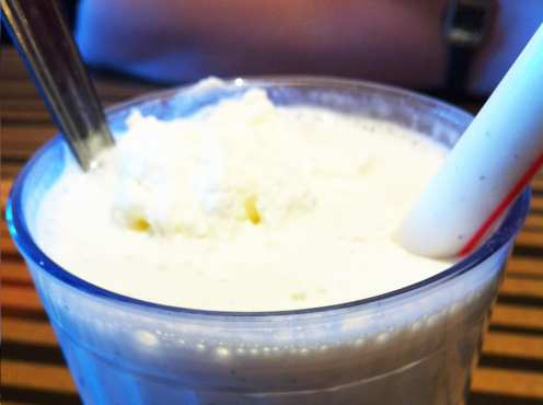 Coconut Milkshake from Bobby's Burger Palace