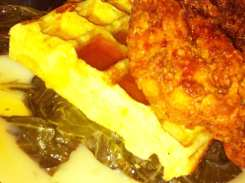 Country Fried Chicken & Waffle from Marvin