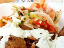 Doner Platter from Cazbar on the Go Food Truck