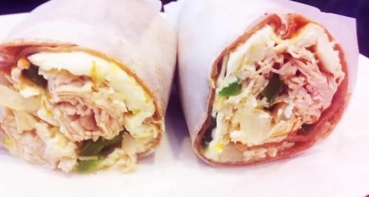 Energizer Breakfast Sandwich from Stage Door New York City