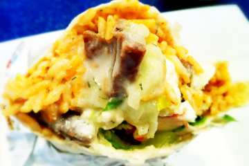 Gyro Burrito from California Tortilla
