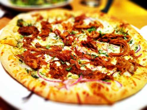 Habanero Carnitas Pizza from California Pizza Kitchen