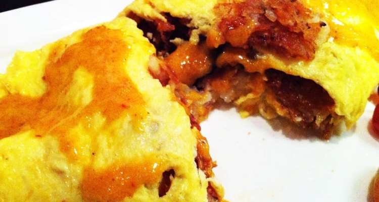 Hash Brown Omelet from Parkway Deli