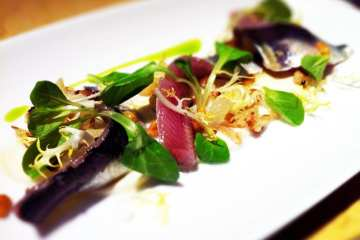 House Cured Sardines from Birch & Barley
