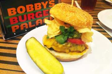 LA Burger from Bobby's Burger Palace