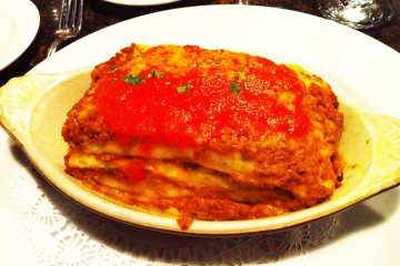 Lasagna from Amici Miei