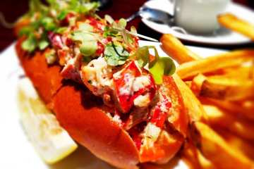 Lobster Roll from American Tap Room