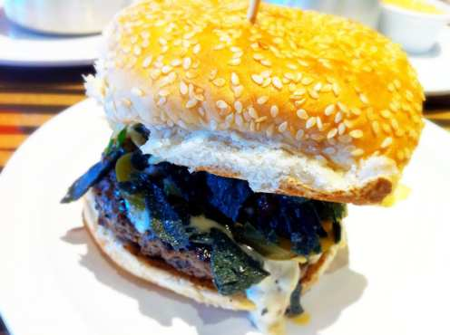 Nacho Burger from Bobby's Burger Palace College Park