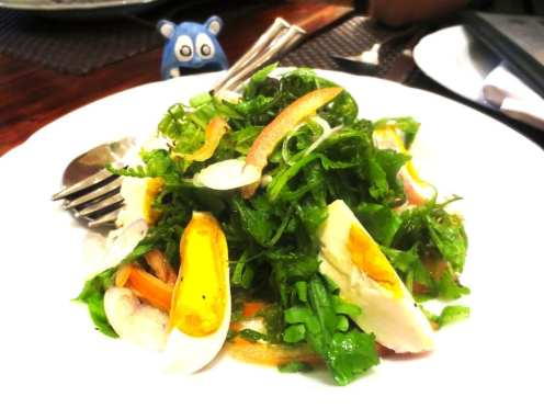 Paco Fern and Tomato Salad from Abe Manila Philippines