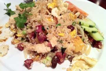 Pineapple Fried Rice from Sabai Sabai Simply Thai